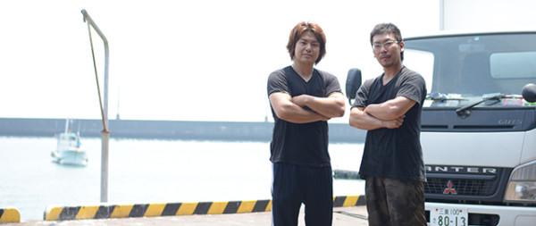 二人の魚匠